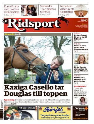 Ridsport 2015-05-14