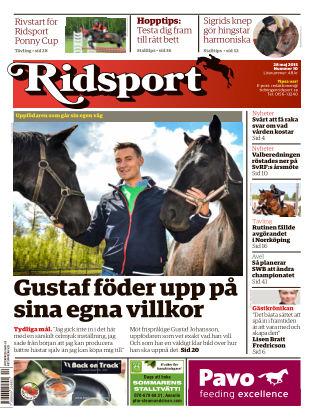 Ridsport 2015-05-28