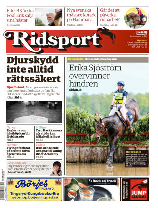 Ridsport 2015-06-11