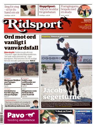 Ridsport 2015-06-25