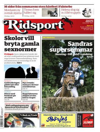 Ridsport 2015-07-23