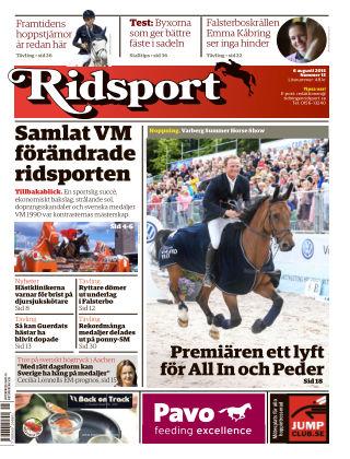 Ridsport 2015-08-06