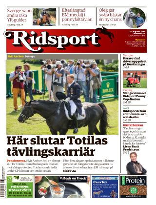 Ridsport 2015-08-20