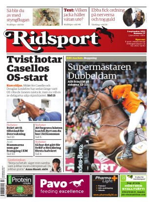 Ridsport 2015-09-03