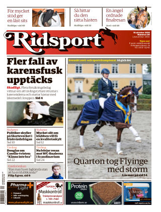 Ridsport 2015-10-15