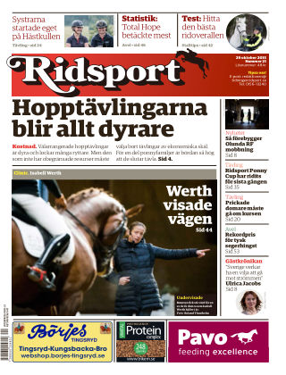 Ridsport 2015-10-29