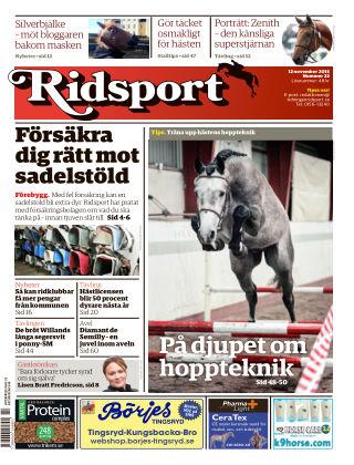 Ridsport 2015-11-12
