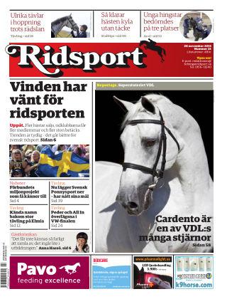 Ridsport 2015-11-26