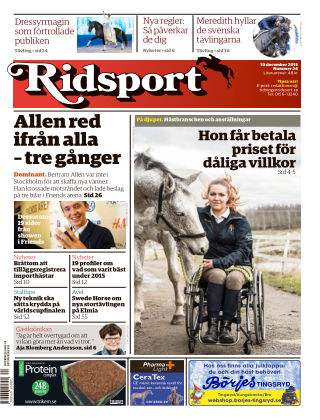 Ridsport 2015-12-10