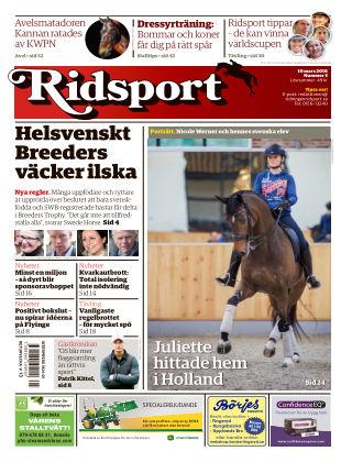 Ridsport 2016-03-10