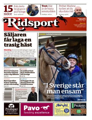 Ridsport 2016-03-24