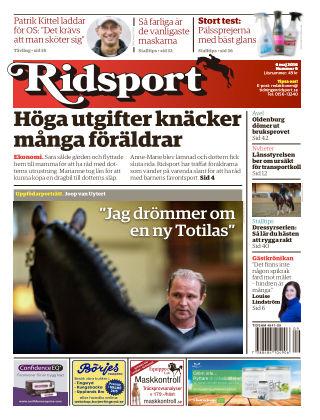 Ridsport 2016-05-05
