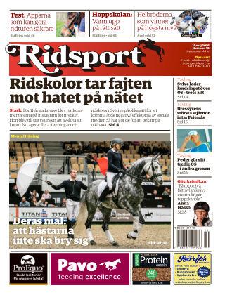 Ridsport 2016-05-19