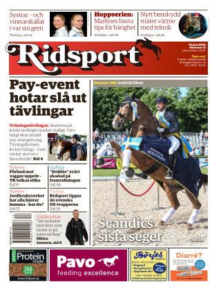 Ridsport 2016-06-16