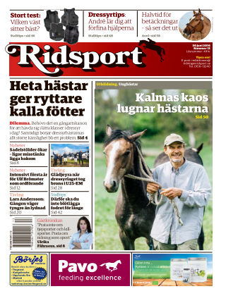 Ridsport 2016-06-30
