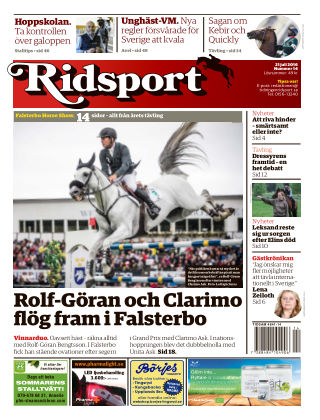 Ridsport 2016-07-21