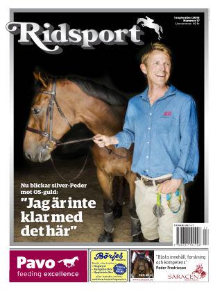 Ridsport 2016-09-01