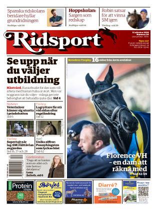 Ridsport 2016-10-13