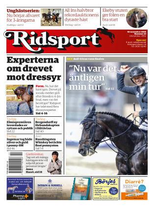 Ridsport 2016-11-10