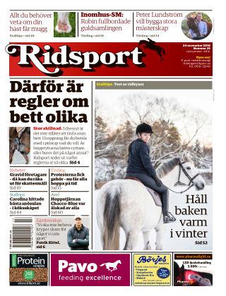 Ridsport 2016-11-24