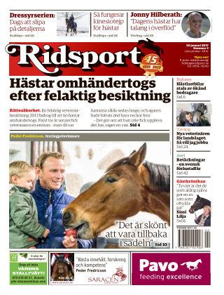 Ridsport 2017-01-26