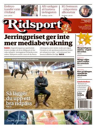 Ridsport 2017-02-09