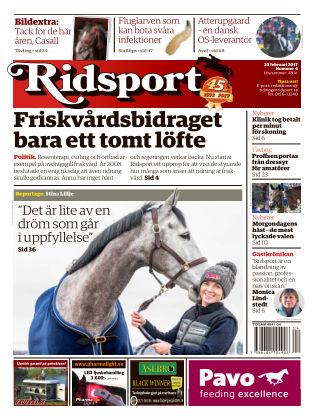Ridsport 2017-02-23