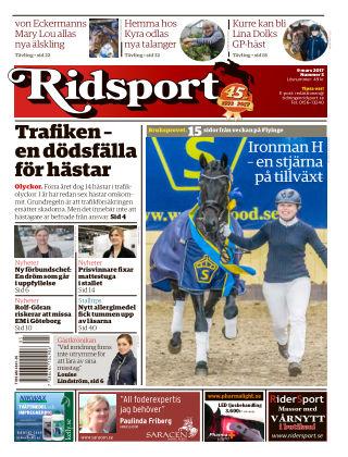 Ridsport 2017-03-09