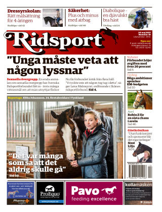 Ridsport 2017-05-25