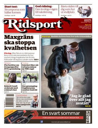 Ridsport 2017-06-08