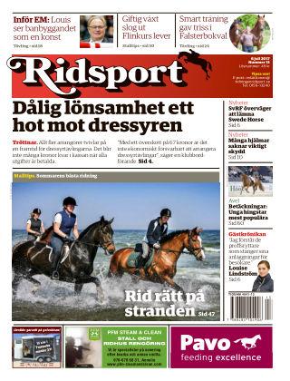 Ridsport 2017-07-06