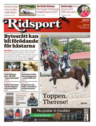 Ridsport 2017-07-27