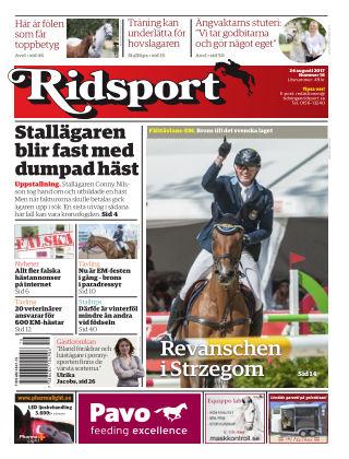 Ridsport 2017-08-24