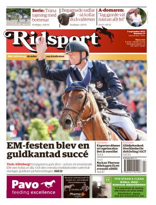 Ridsport 2017-09-07