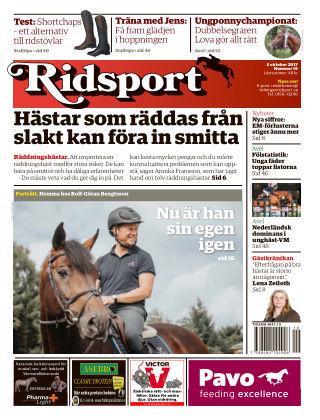 Ridsport 2017-10-05