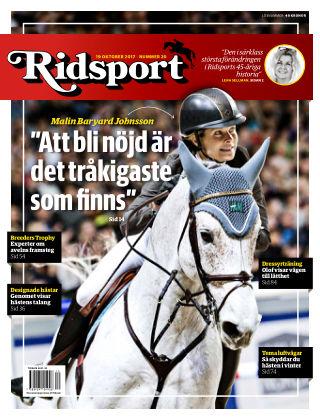 Ridsport 2017-10-19
