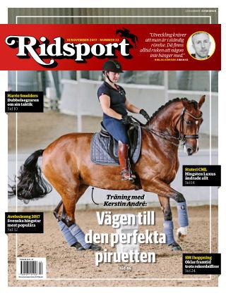 Ridsport 2017-11-16