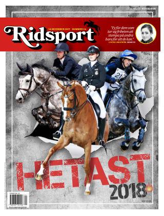 Ridsport 2017-12-14