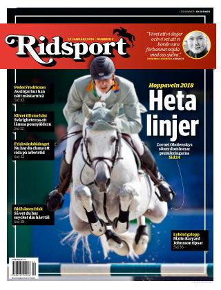 Ridsport 2018-01-25
