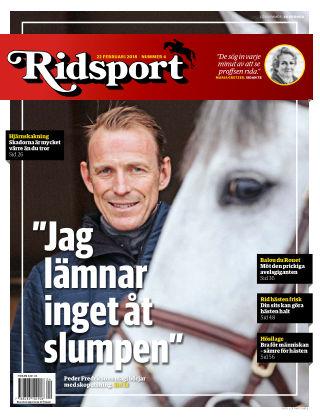 Ridsport 2018-02-22