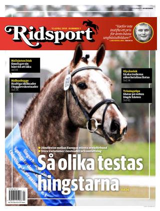 Ridsport 2018-04-12