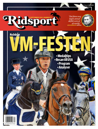Ridsport 2018-09-06
