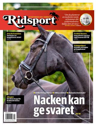 Ridsport 2018-09-20
