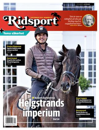 Ridsport 2018-11-01