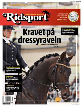 Ridsport 2018-11-15