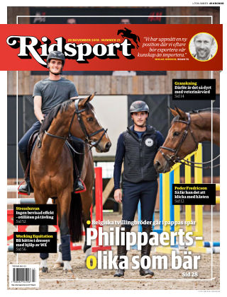 Ridsport 2018-11-29