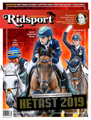 Ridsport 2019-01-17