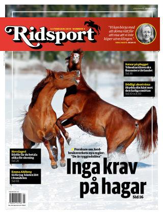 Ridsport 2019-02-14