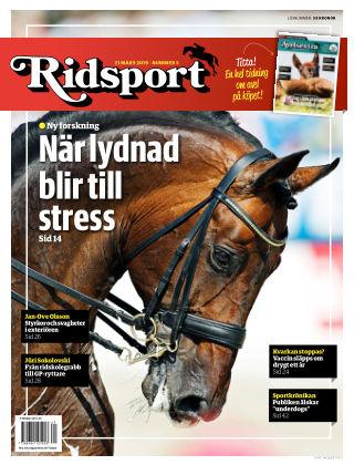 Ridsport 2019-03-21