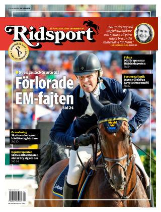 Ridsport 2019-08-29